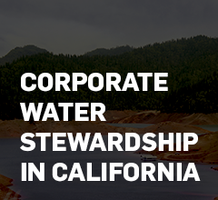 Corporate Water Stewardship in California